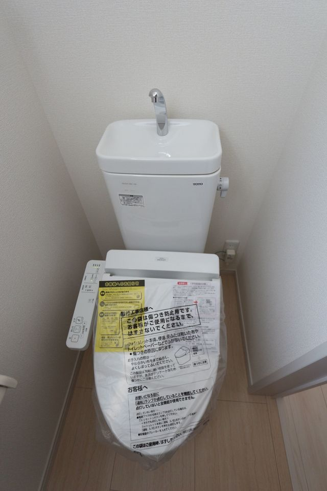 1・2階に温水洗浄便座を設置。