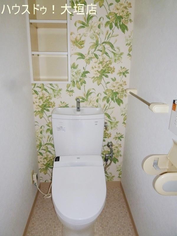 トイレも新しく交換済みで気持ちよくお使い頂けます。