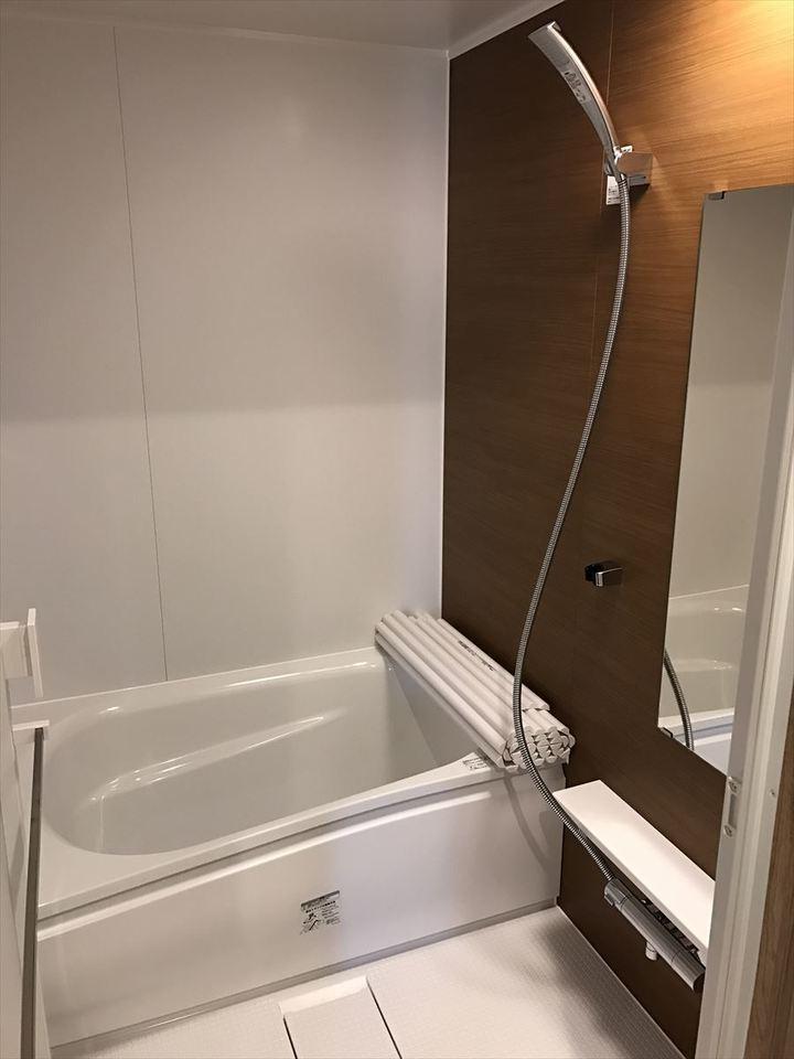 清潔感のあるお手入れしやすい浴室です!1日の疲れをリフレッシュする空間にして下さい♪