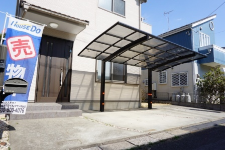 外観 駐車場(H29.3.12)撮影