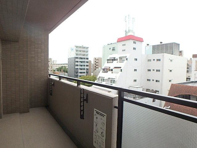 南側、7階からの眺望