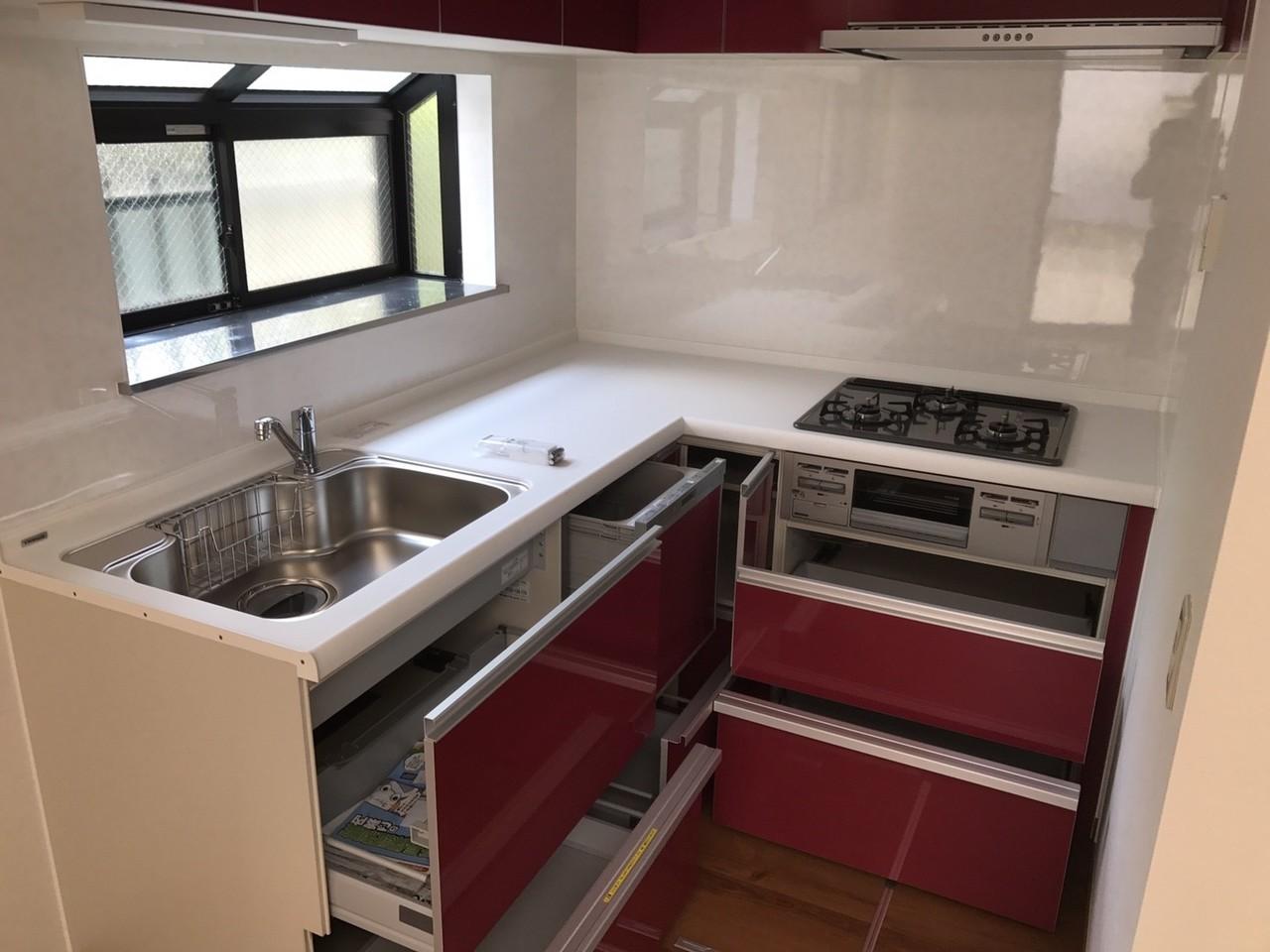 食洗付きシステムキッチン
