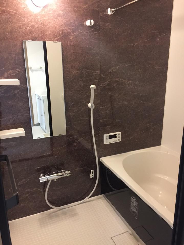 浴室新品交換