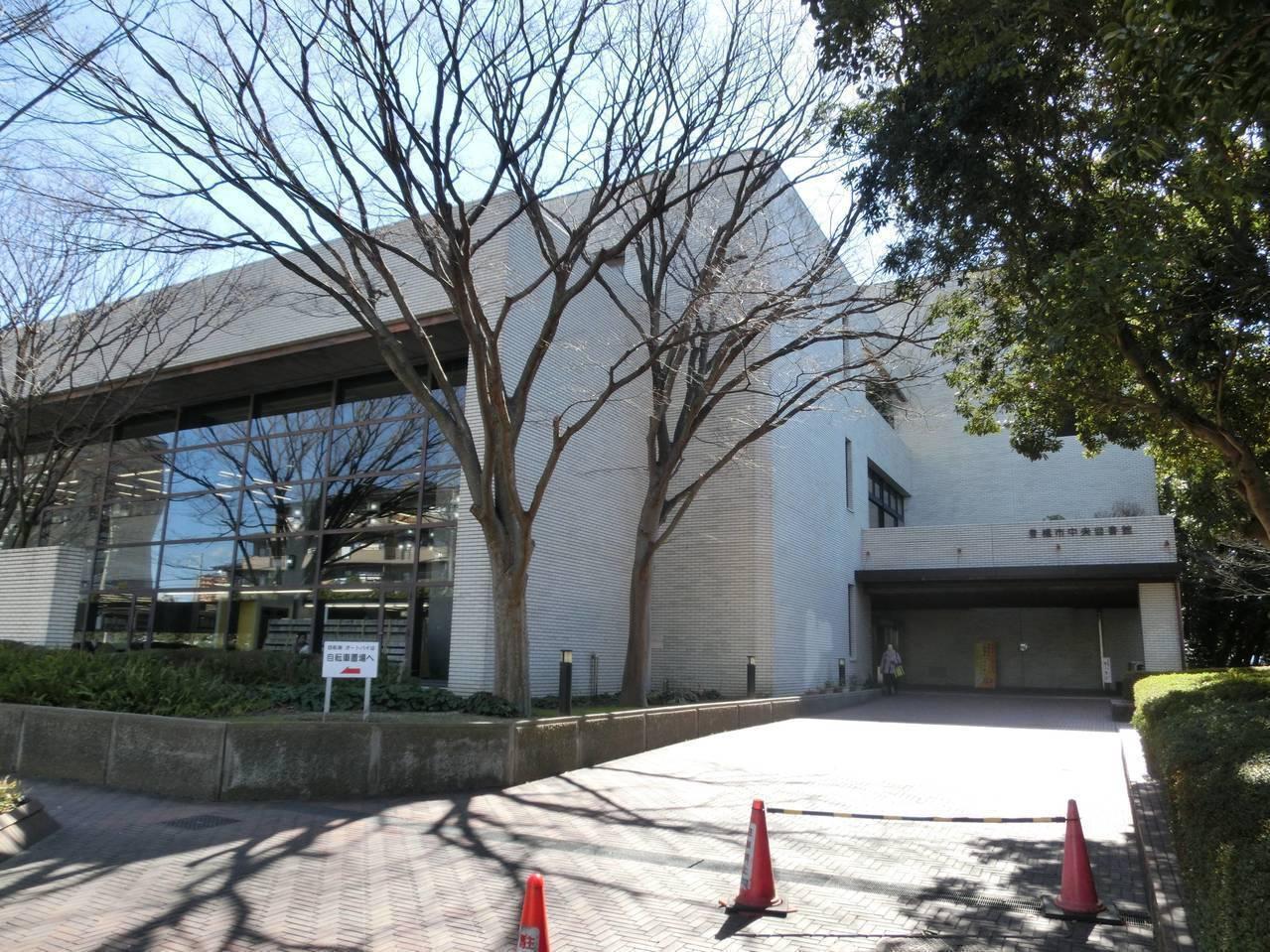 【図書館】豊橋市中央図書館まで徒歩21分(1601m)