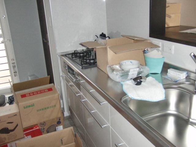1階店舗部分キッチン