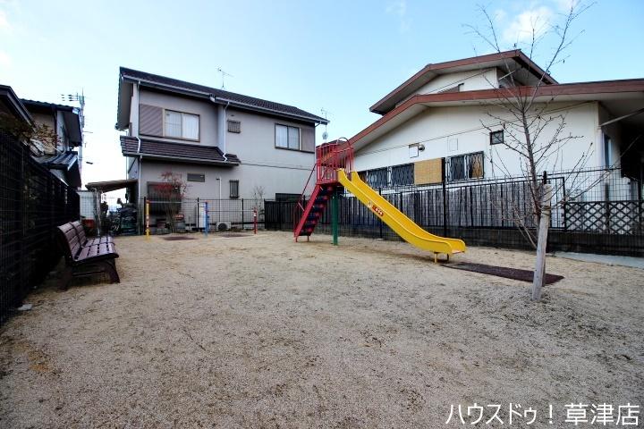 お近くには公園もあります。 木川上野児童遊園