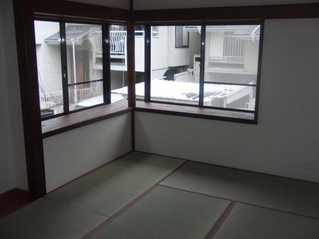 二階部分の和室