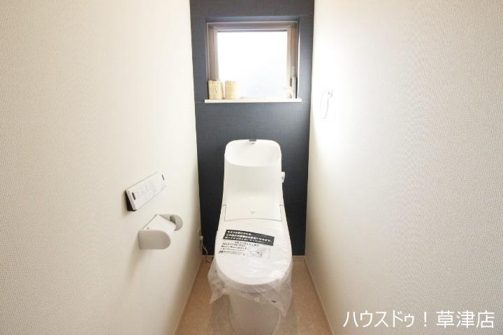 白を基調とした清潔感のあるトイレで嬉しいですね 落ち着く空間をお約束します