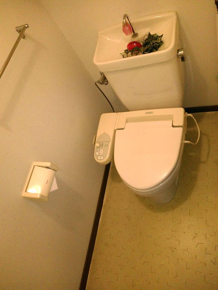 ◆アメニティ徳力II♪温水洗浄便座付きのトイレです♪とてもキレイでまだまだ使えます♪
