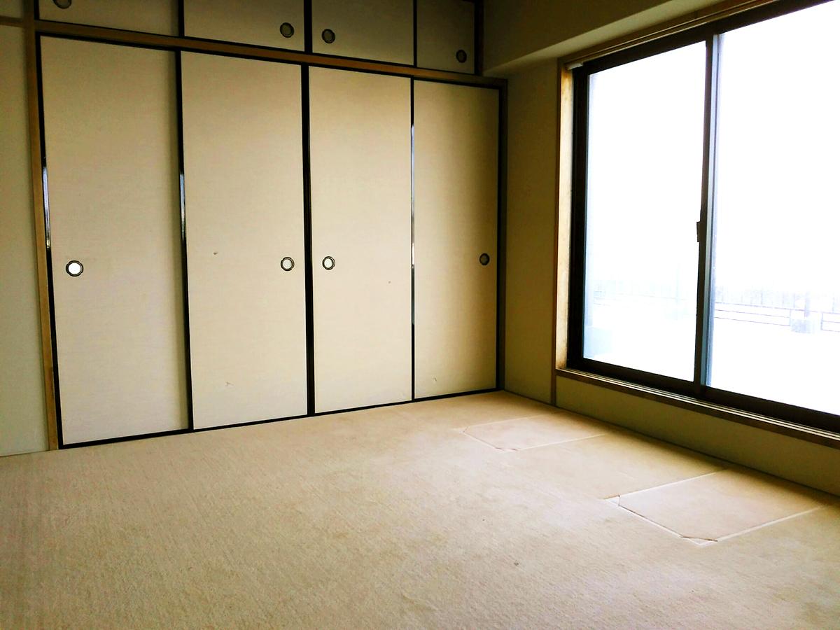 ◆アメニティ徳力II♪6帖和室はLDKと合わせて使える便利な間取りです♪