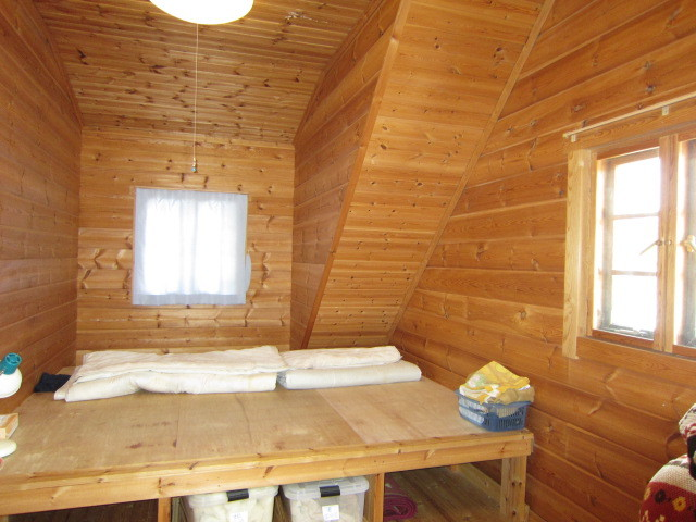 2F洋室。寝室としても収納としても使えます