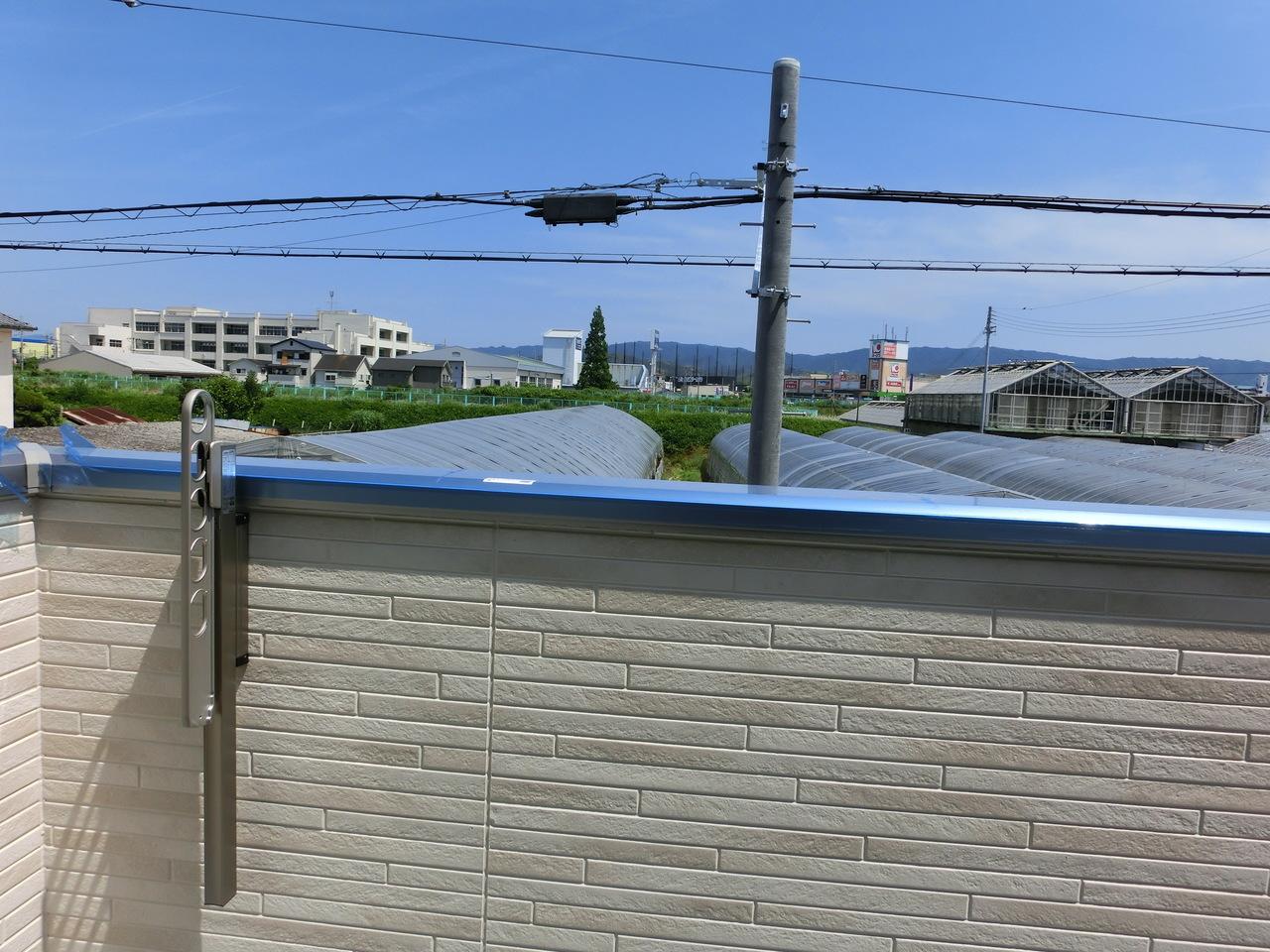 現地の様子(H29年6月3日撮影) 気持ちの良い眺望が広がるバルコニーです♪