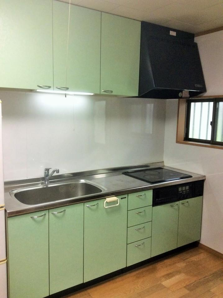 キッチンとリビングには床暖房完備