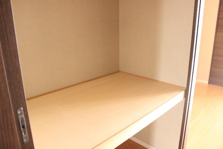 収納スペースをしっかり確保しているので、使い勝手もよさそうです。