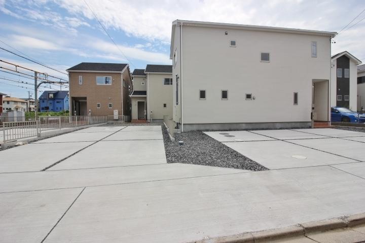 常滑市港町 新築戸建 1号棟 土地面積 55.6坪 建物面積 29.49坪