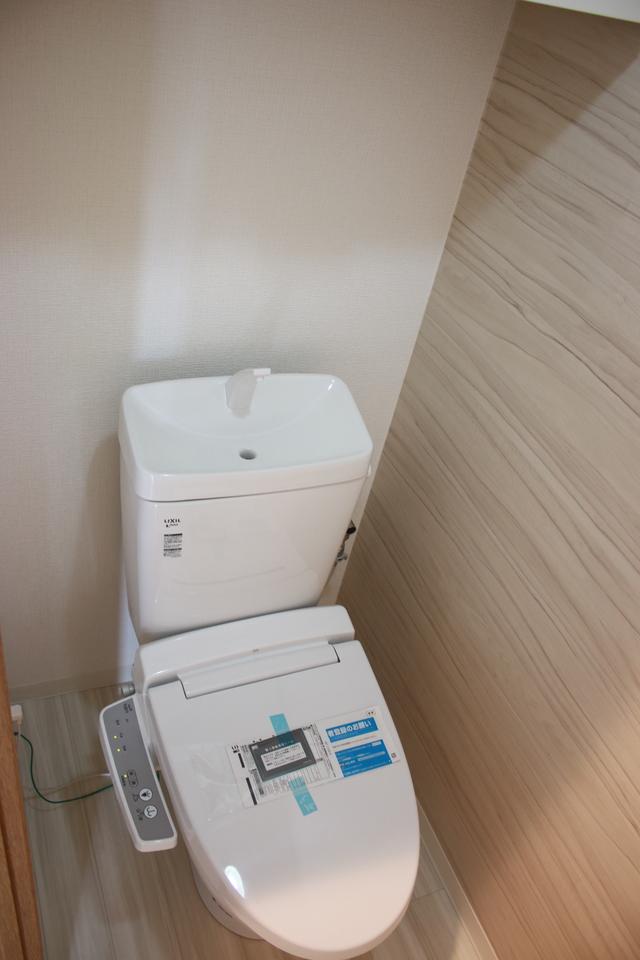洗浄便座付きトイレもリフォーム済