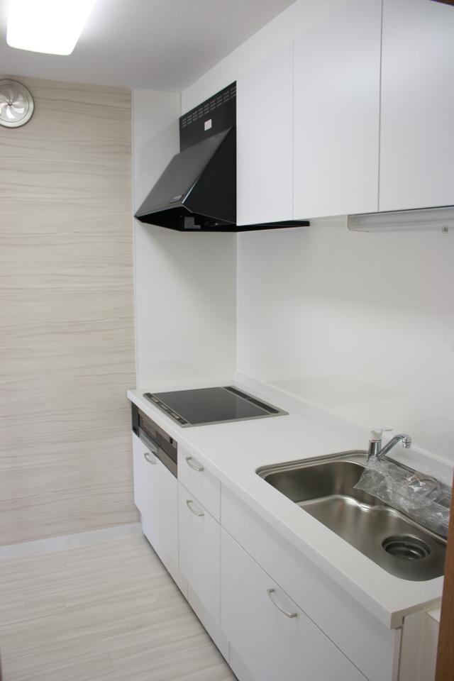 システムキッチンは新規交換済みです