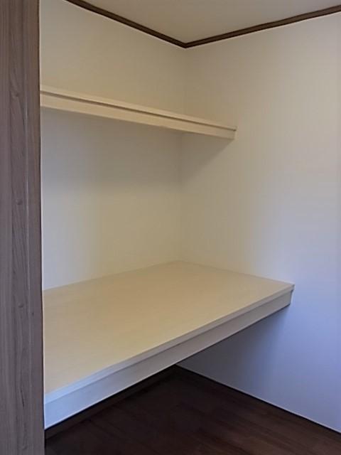 2F 3畳の収納スペースを完備