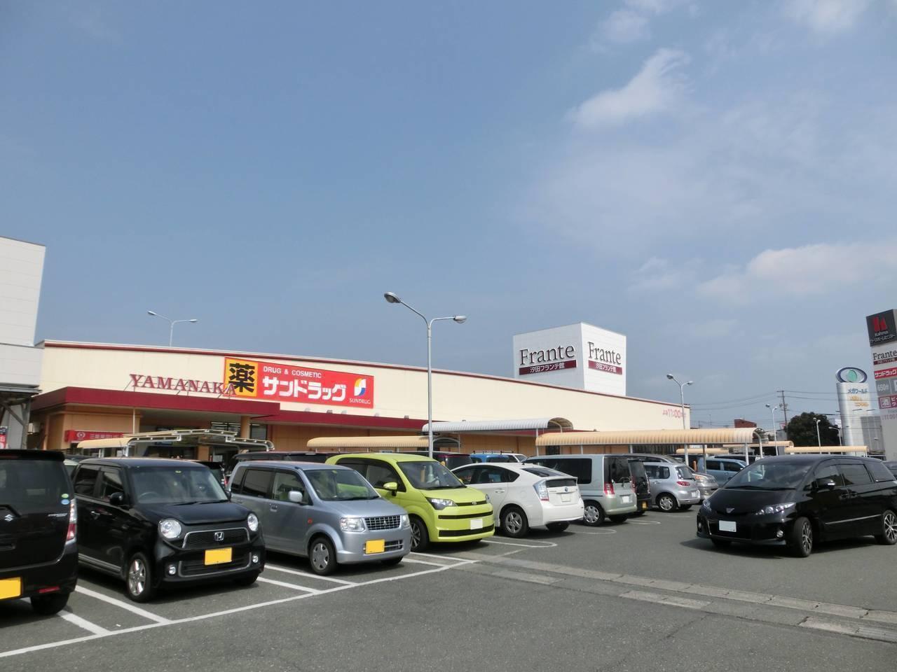 【スーパー】汐田フランテ館まで徒歩8分(606m)