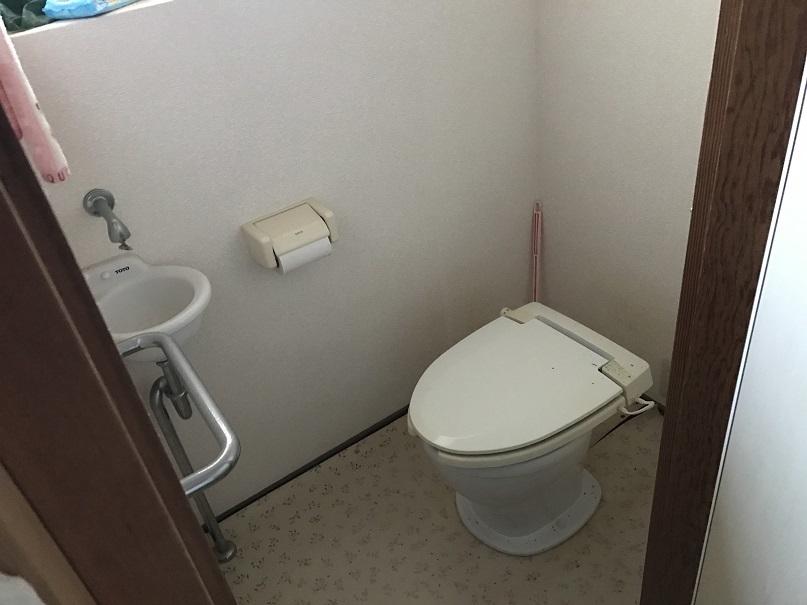 リフォーム歴のあるトイレは、現在汲み取りです。