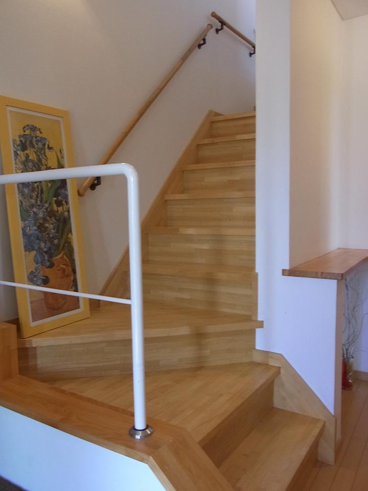 階段部分はメーターモジュールで広々