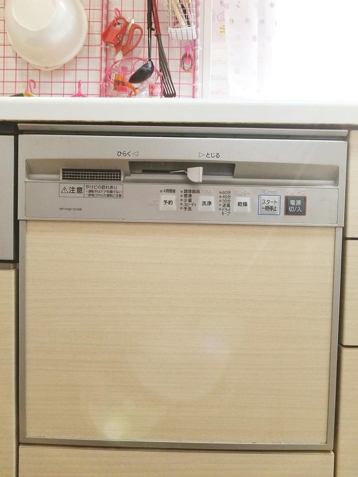 食器洗乾燥機付き