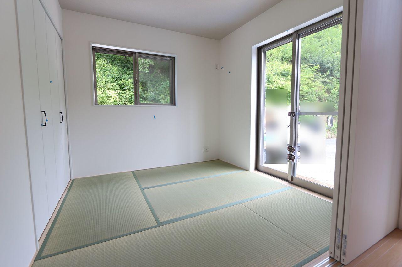 押入れ付きで、寝室や客間としても ご利用頂けます。