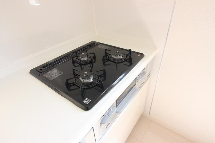キッチン・ガスコンロ 3口ガスコンロ リナージュ同仕様写真