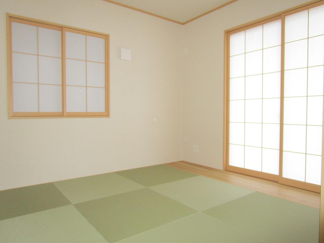 いぐさの香る和室でリラックスした毎日を