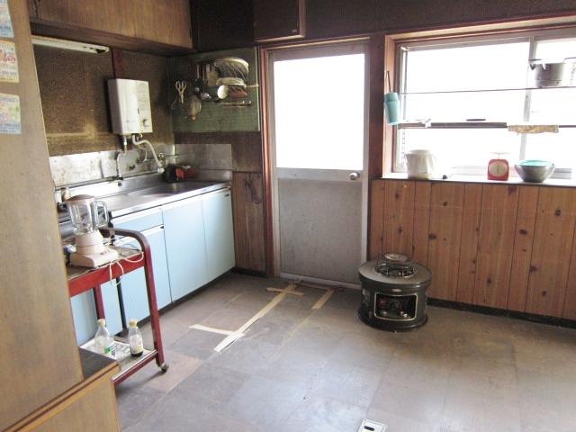 昭和46年築母屋 ダイニングキッチン
