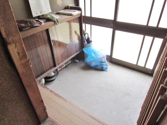 昭和46年築母屋 玄関