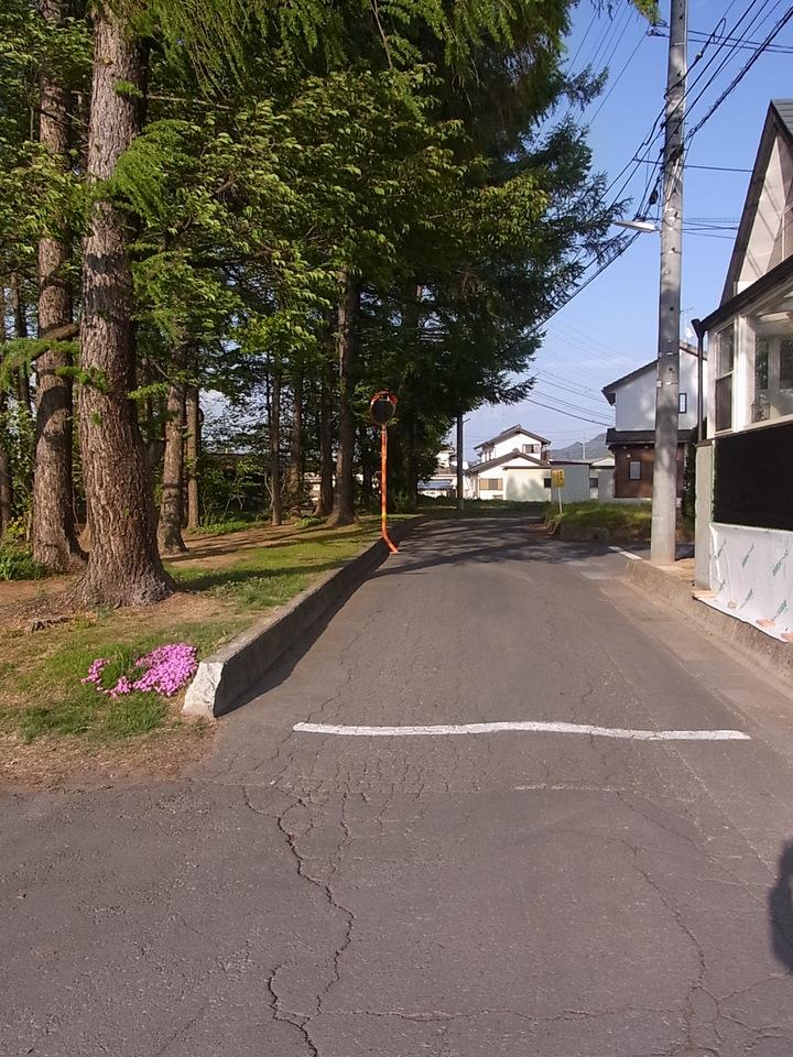 前面道路は車通りが少なく静かですが徒歩5分の所にはインターウェーブという商業施設があります。