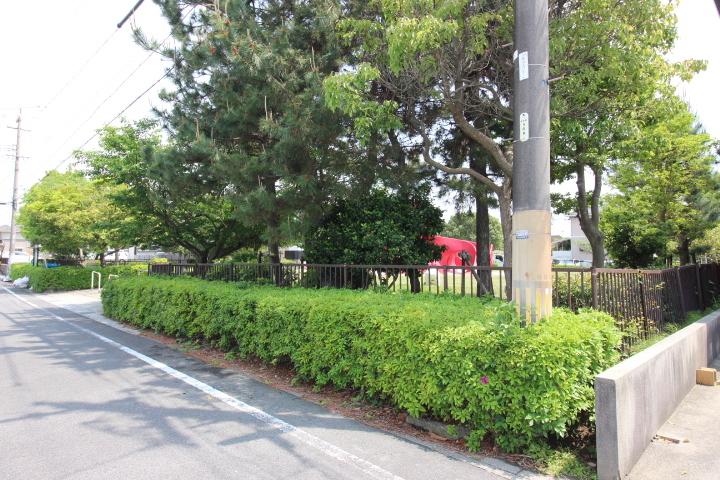 新浜西公園がすぐ近くです。