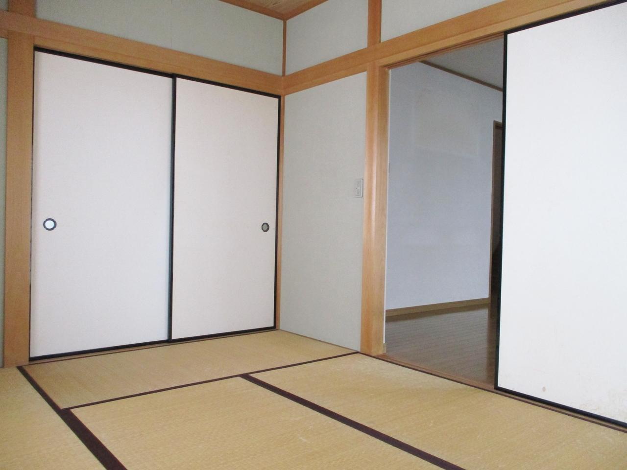 1階 6帖の和室