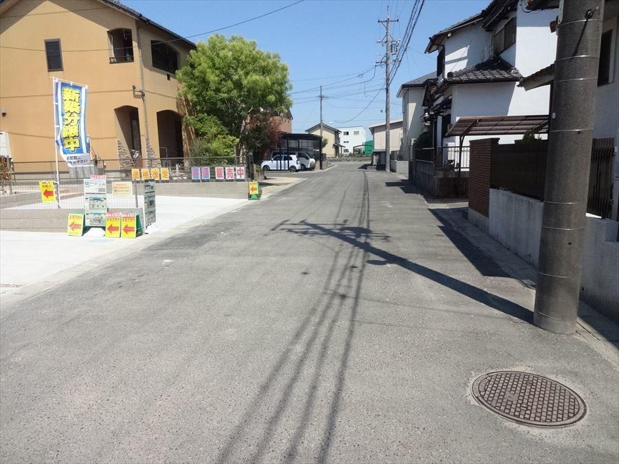 6メートル以上の道路(公道)に面する区画静住街♪車の出し入れもラクラクです!
