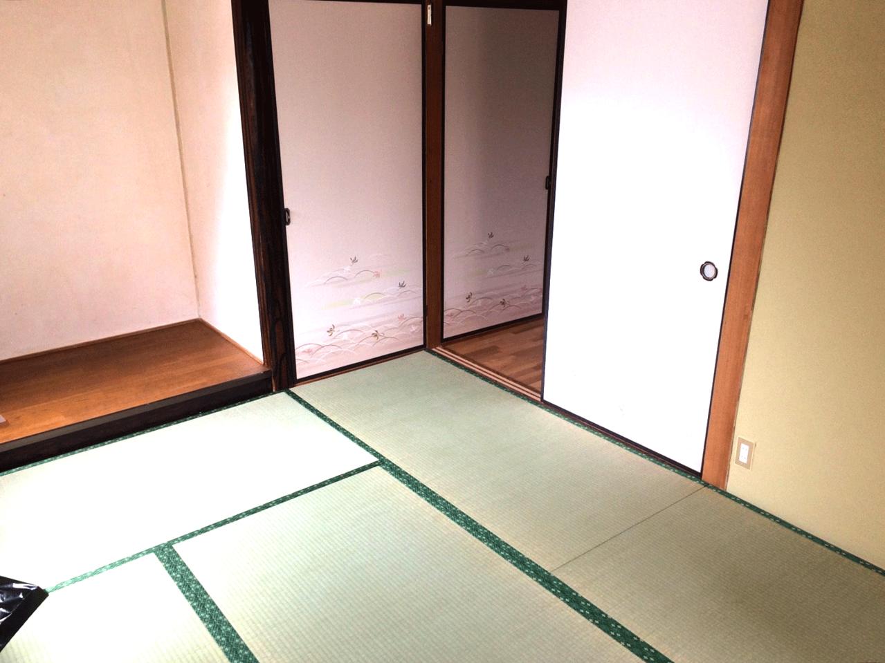 6帖和室は収納、床の間付き♪◆小倉南区北方駐車スペース4台分の戸建て住宅♪