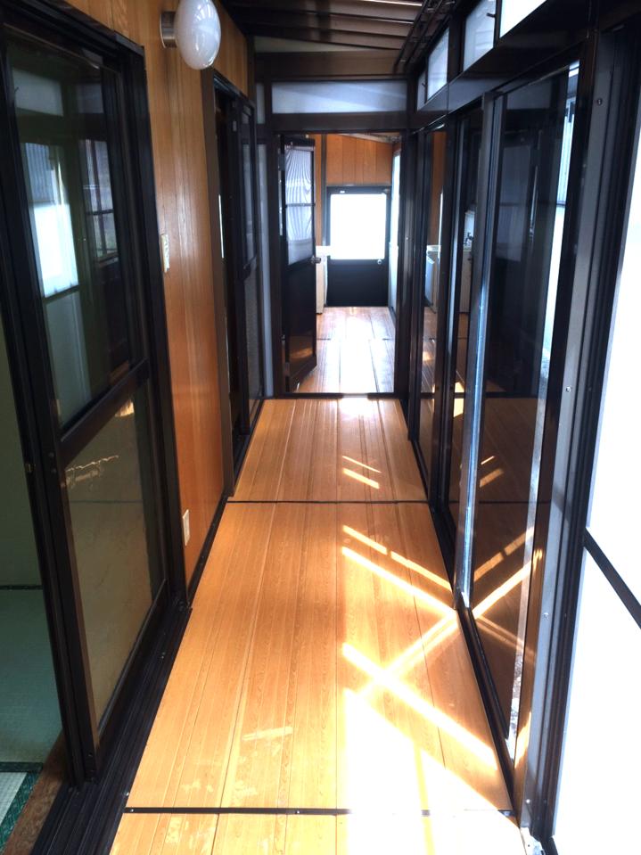 縁側部分はとてもキレイです♪◆小倉南区北方駐車スペース4台分の戸建て住宅♪