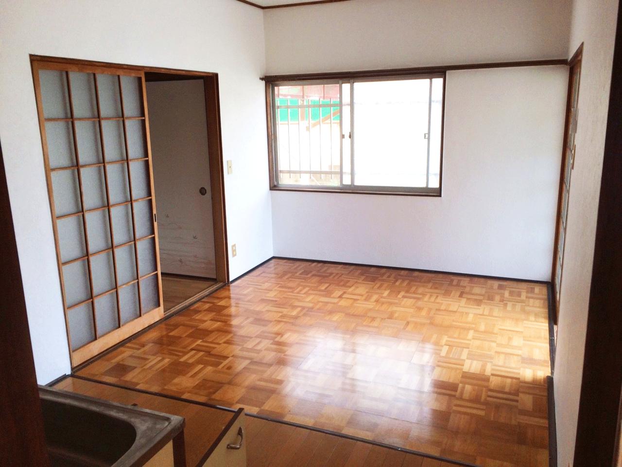約7.5帖のダイニングキッチンです♪◆小倉南区北方駐車スペース4台分の戸建て住宅♪