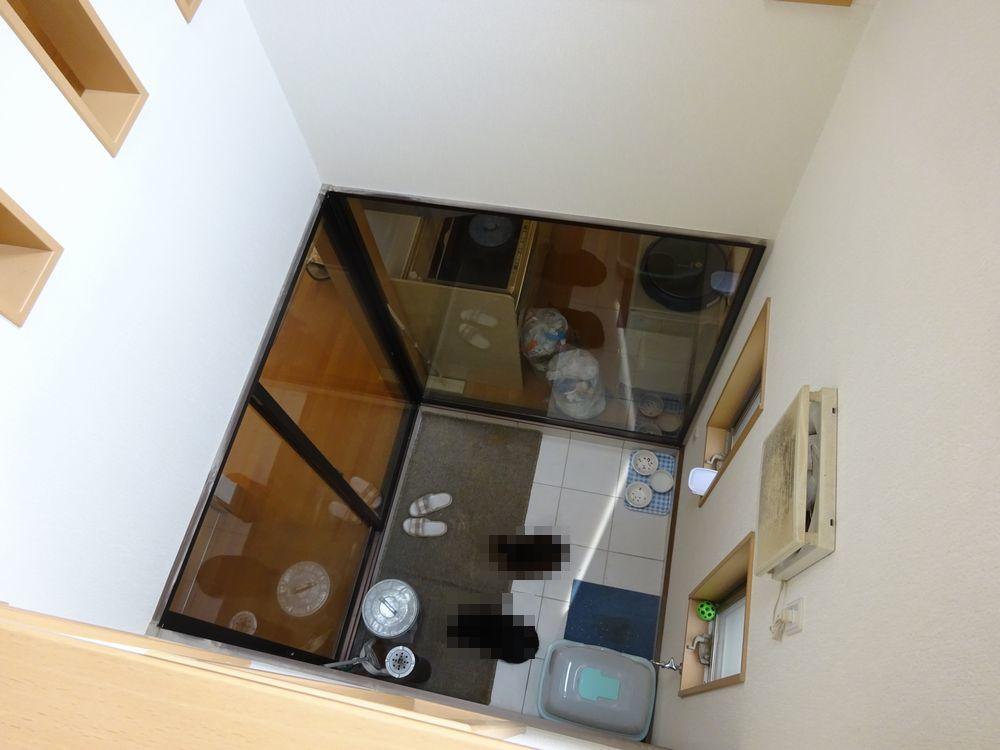▼2階から見た吹抜け