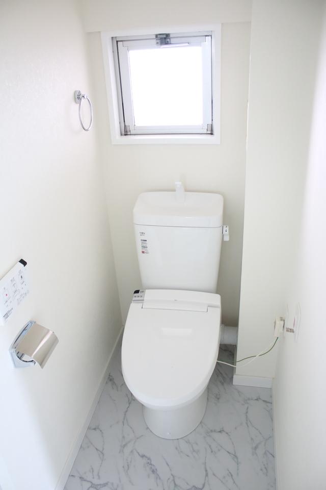 トイレもリフォーム済