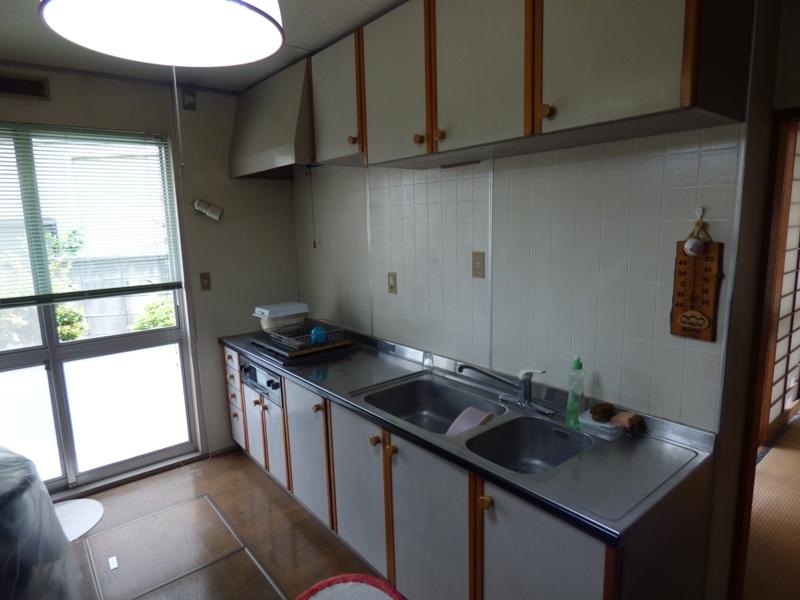 2世帯用のキッチンです