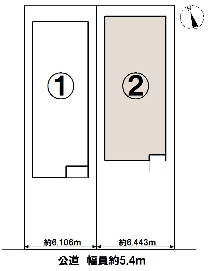 2号棟◆土地面積:128.09㎡◆建物面積:105.79㎡(32坪)