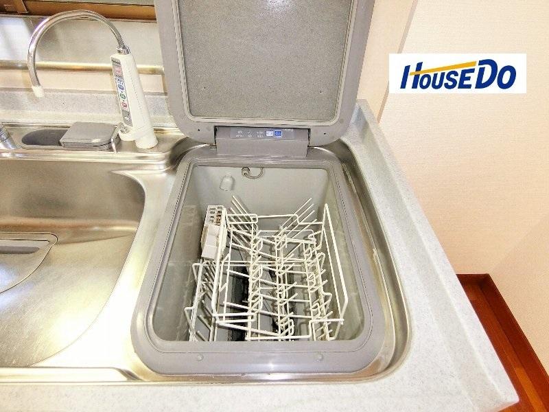 ビルトイン食洗器付き