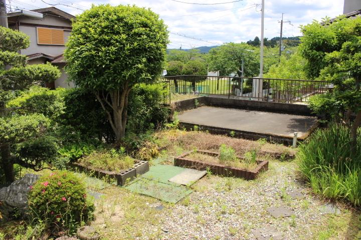 広いお庭ございます