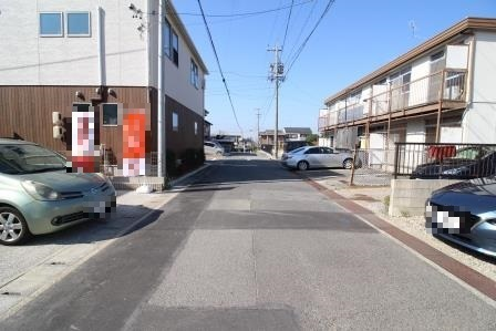 ☆前面道路☆ 公道約5.5m 間口約5.5m
