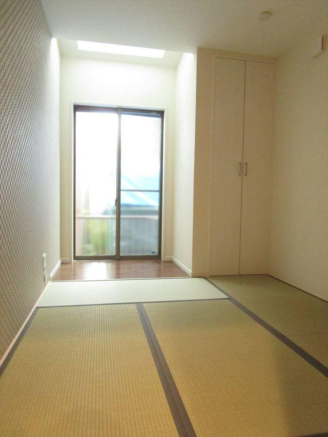 客間に最適な独立和室。収納スペースもしっかり確保◎