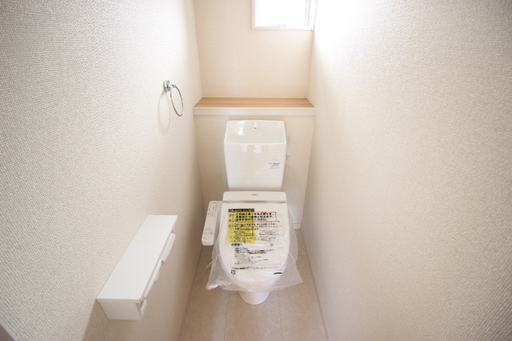 2階にもトイレがあります