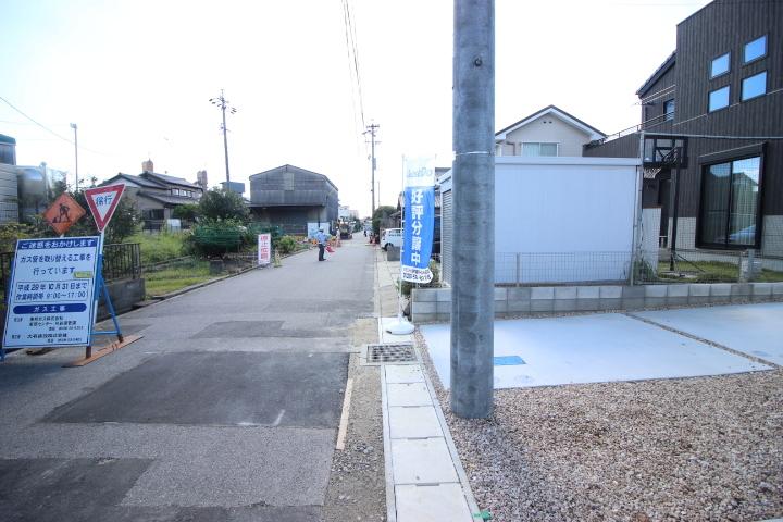 前面道路5.8m