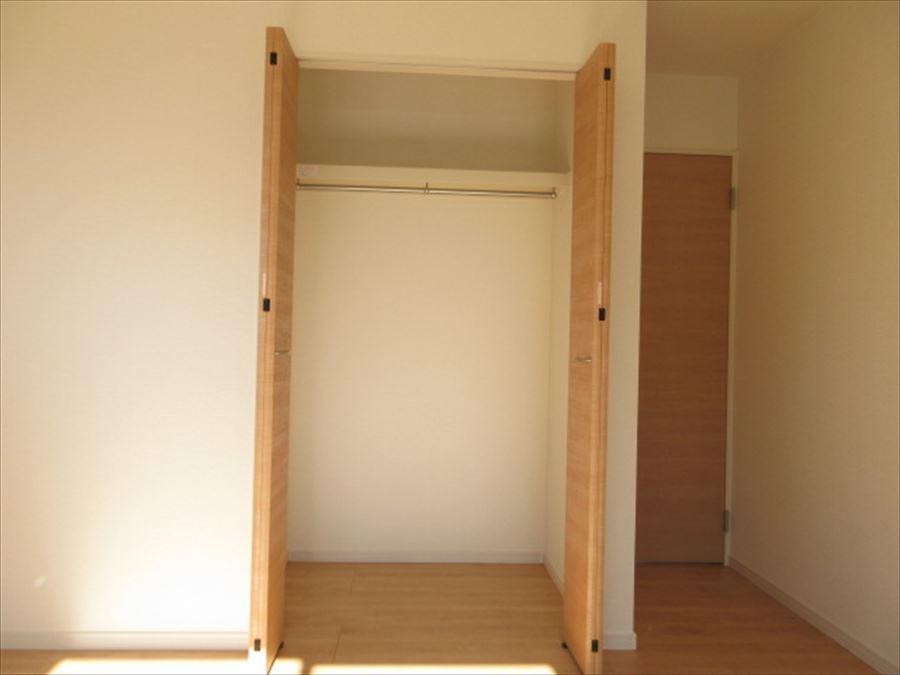 全室収納スペースあり!お部屋をすっきりとお使いいただけますね(^^)