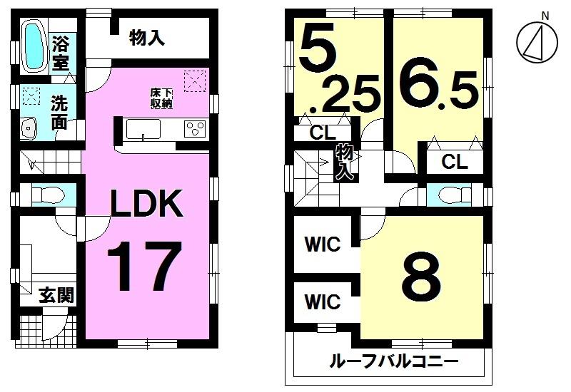 【間取り】 通勤通学に便利な名鉄河和線半田口駅まで徒歩5分(約230m)の近さ マイホームにいかがでしょうか